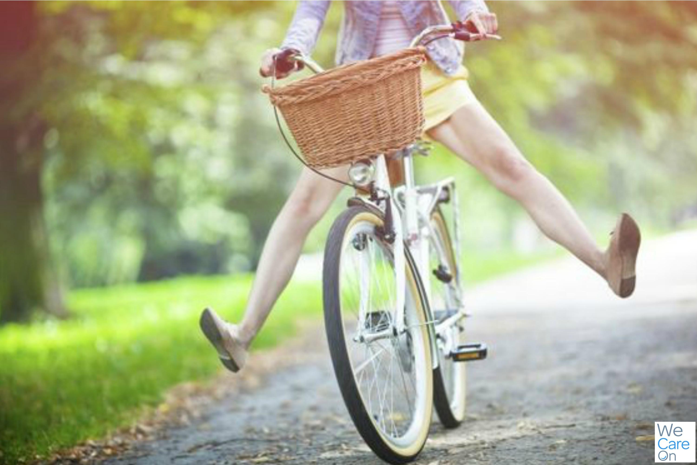 Andar de bicicleta melhora o humor - WeCareOn
