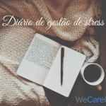 exemplo de um diário de gestão de stress
